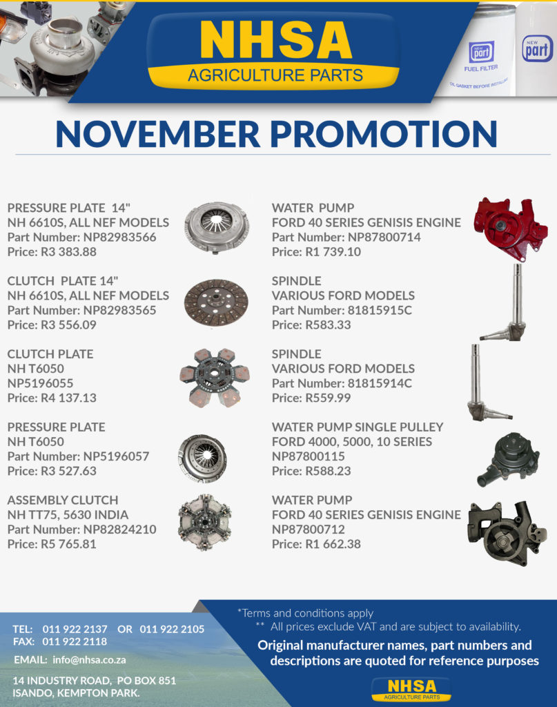 November Promotion